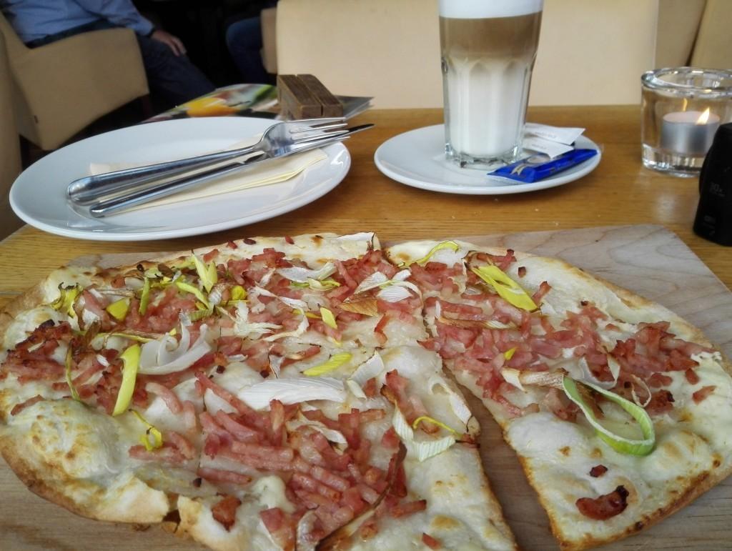 Mijn lunch bij Alex