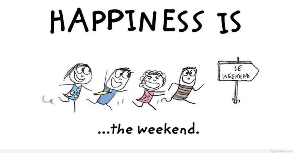 weekend blog