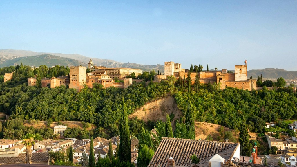 Alhambra Andalusië