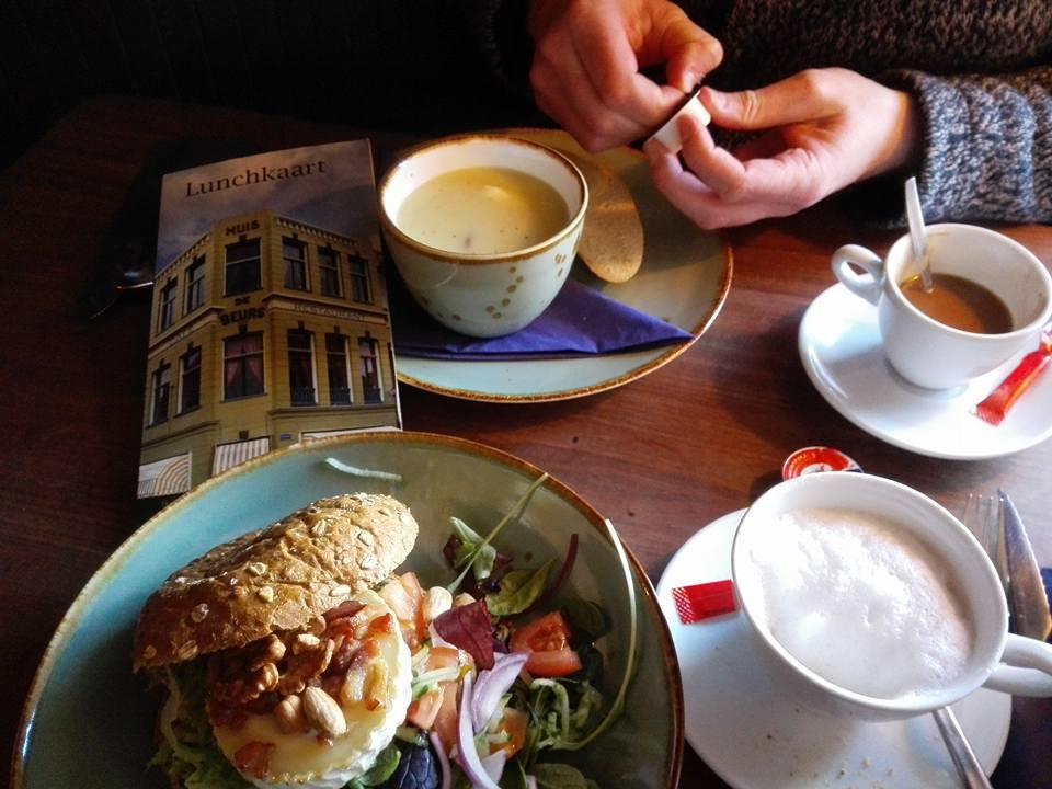 Lunch Huis De Beurs januari