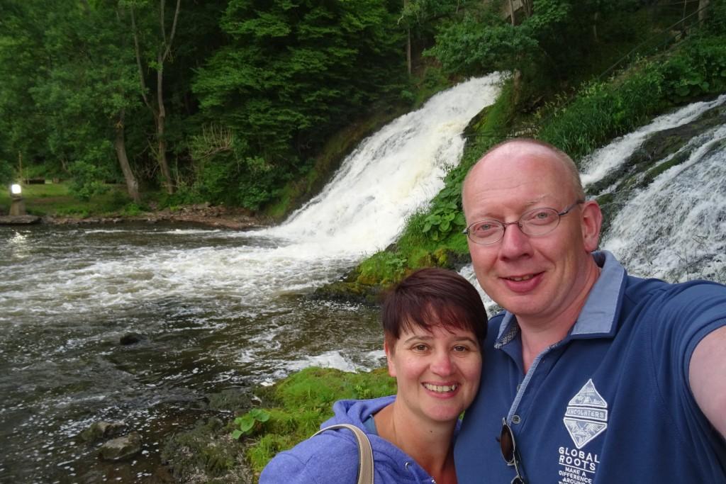 Watervallen van Coo juni