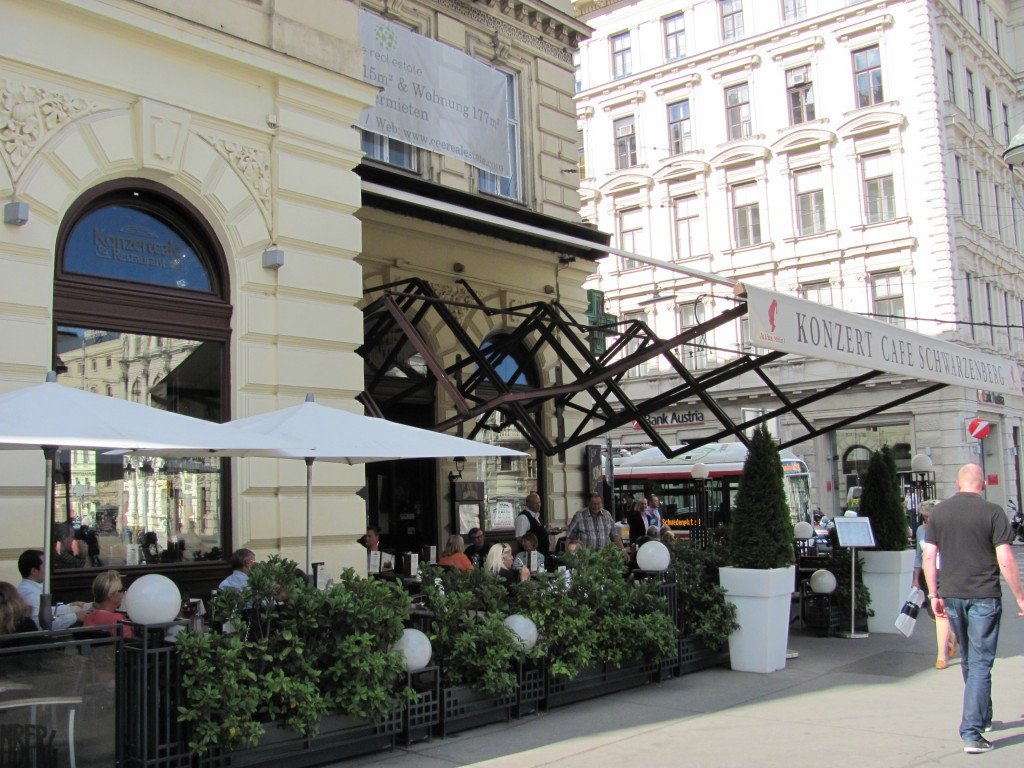Café Schwarzenberg Wenen