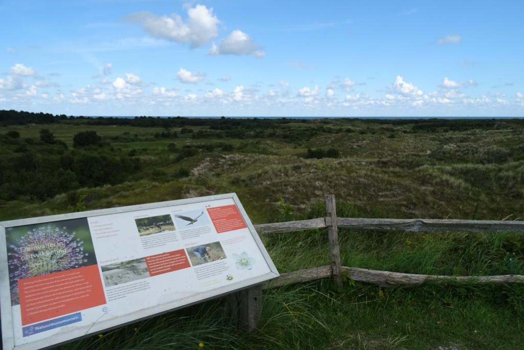 Uitzicht bij Bunker Wassermann Schiermonnikoog