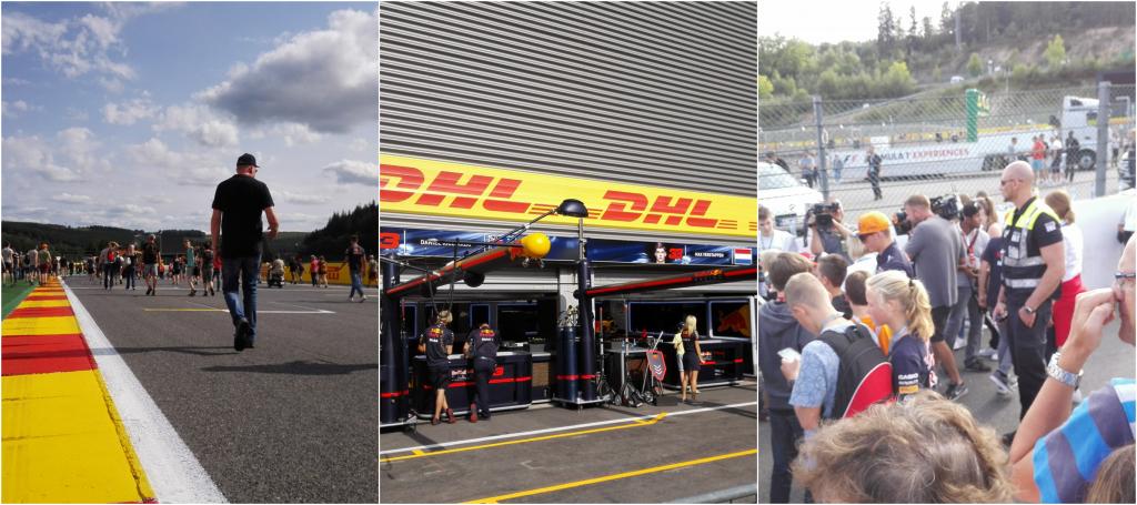 Pitstraatwandeling Formule 1