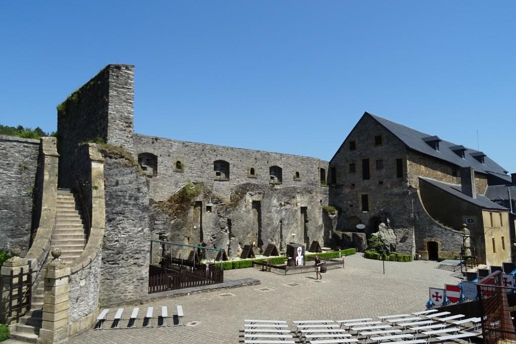 Kasteel Bouillon Ardennen