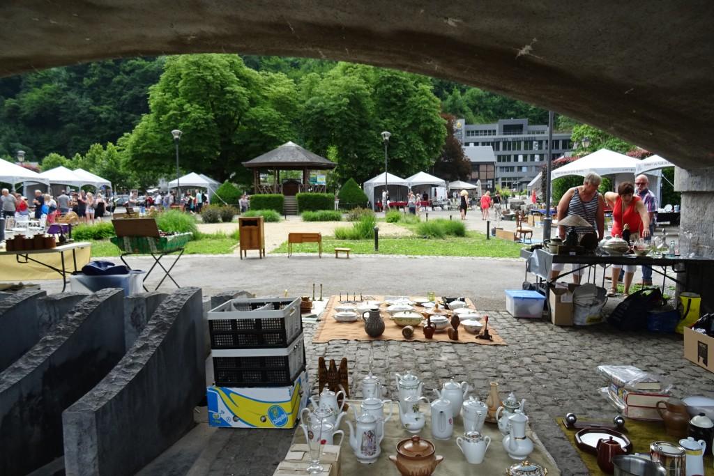 Markt Durbuy Ardennen België