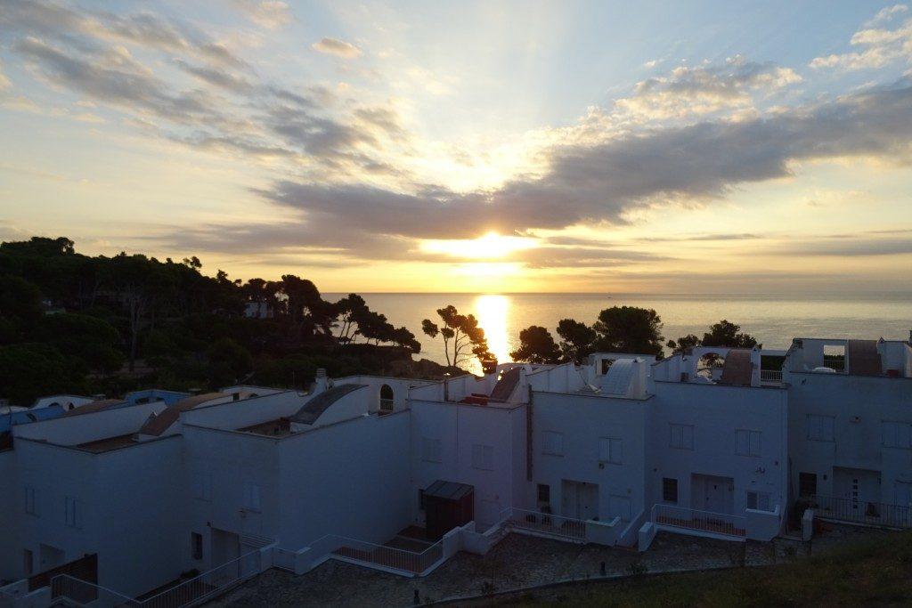 zonsopkomst Costa Brava Spanje