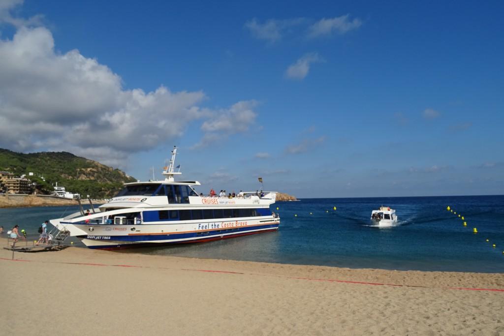 boottocht Tossa de Mar Costa Brava