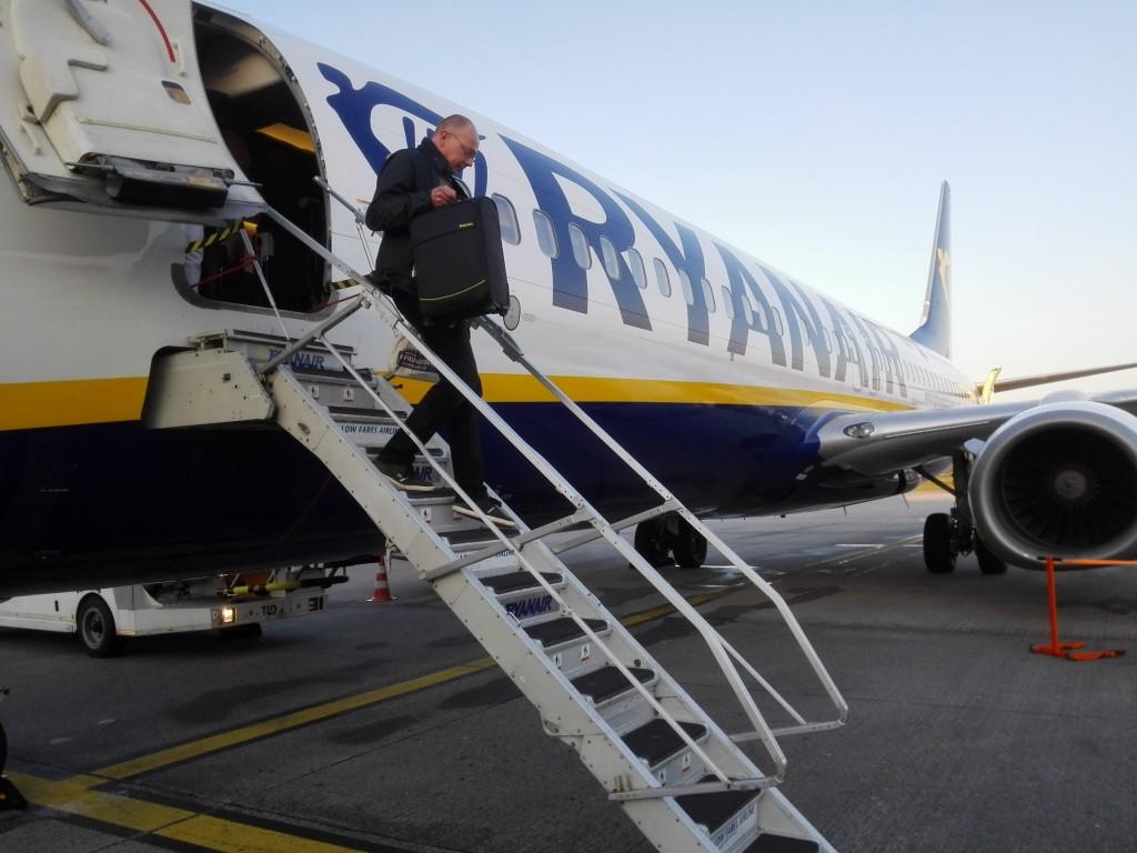 Vliegen Ryanair Costa Brava