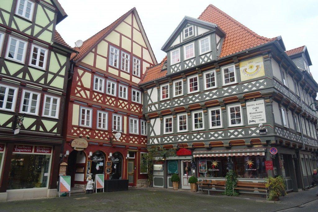 vakwerkhuizen Hannover Münden Duitsland