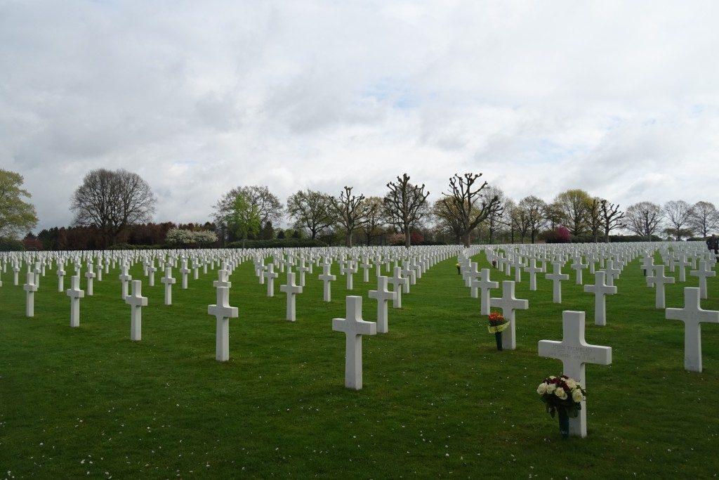 Amerikaanse begraafplaats Margraten Nederland