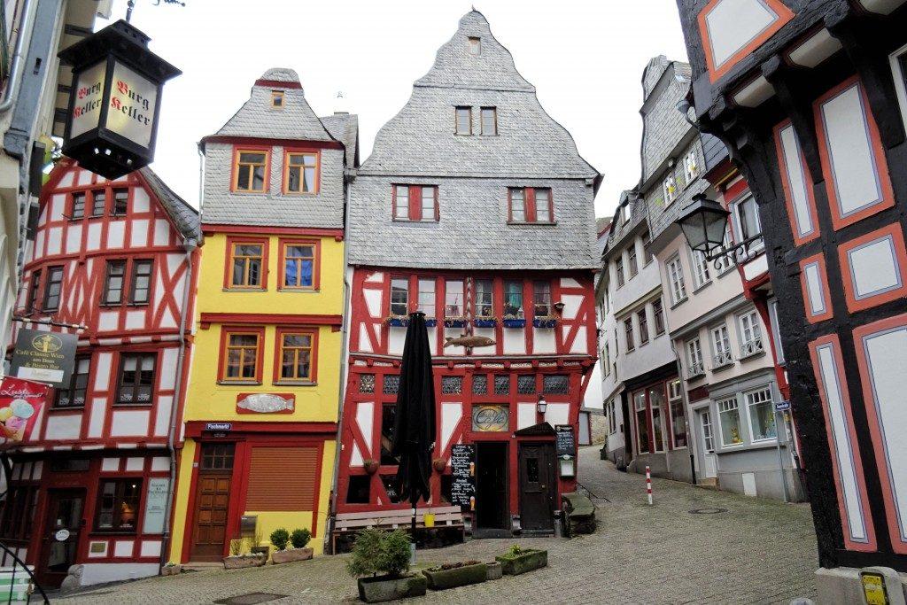 Fischmarkt Limburg an der Lahn Duitsland